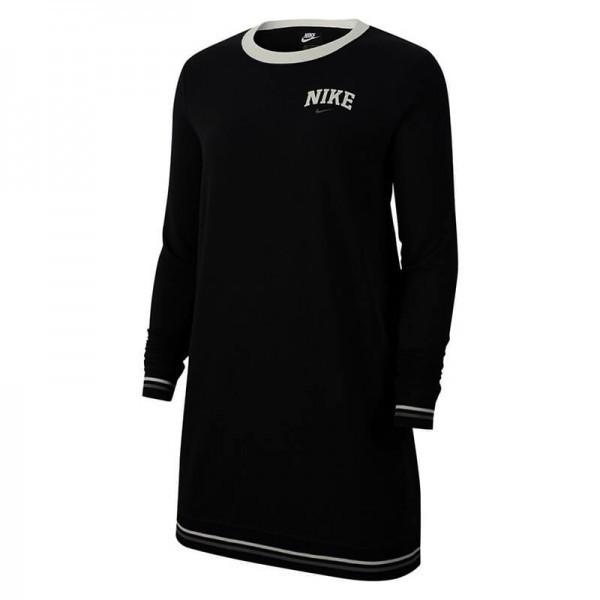 ROCHIE Nike W NSW DRESS LS FLC VRSTY