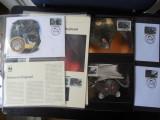 Serie timbre fauna WWF animale lilieci nestampilat postale