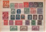 Timbre germania 1910-1943, Nestampilat