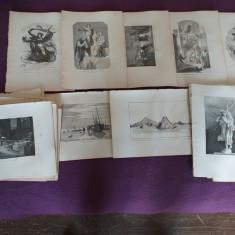 Printuri 1890, gravuri