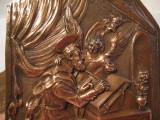 TABLOU CUPRU - APLICA DECORATIVA REALIZATA MANUAL PE CUPRU