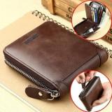 Wallet Men's Short Wallets Brand Casual Zipper Coin Purse Male Card Holder Wallet