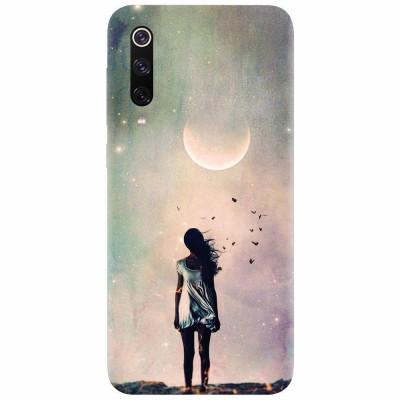Husa silicon pentru Xiaomi Mi 9, Alone Woman Cgi Hd K foto