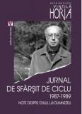 Jurnal de sfarsit de ciclu 1987-1989 | Vintila Horia