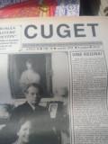 Ziarul CUGET , patru numere .