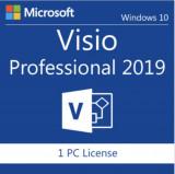 Microsoft Visio 2019 Professional Licenta Lifetime