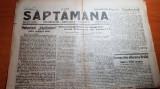 ziarul saptamana 30 septembrie 1929 anul 1,nr.1-un veac de la eliberarea brailei