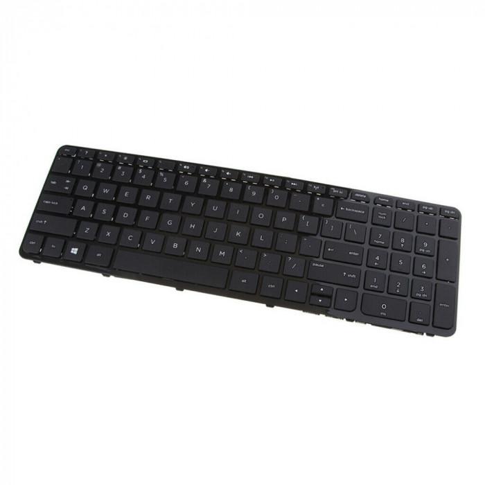 Tastatura Laptop, HP, 15-G200NQ, neagra, cu rama, US