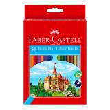 Creioane colorate 36 culori Faber Castell eco 120136