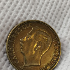 20 lei 1930 carol, fara semn monetarie