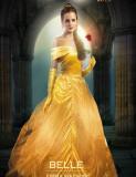 Cumpara ieftin Rochie rochiță Belle Frumoasa și Bestia /petreceri tematice aniversare, 4-5 ani, 5-6 ani, 7-8 ani, Galben