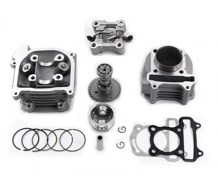 Kit Cilindru Set Motor + Chiuloasa Scuter Kymco - Kimco 4T 49cc 50cc 39mm