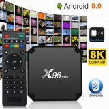 Mini TV Box X96 Android 9.0 Wifi Quad Core 4 Gb +32 Gb Rom Functii Netflix Kodi