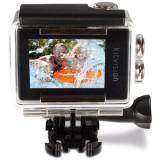Camera video de actiune Waterproof, Alb