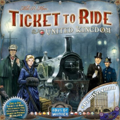 Set Jucarii Ticket To Ride United Kingdom And Pennsylvania Expansion