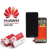 Display Huawei P10 Lite Cu Rama si Baterie Original Negru