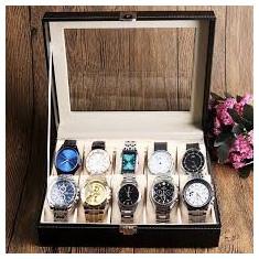 Cutie Caseta Depozitare pentru 10 Ceasuri – cadoul ideal