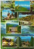 CPIB 16039 CARTE POSTALA - VALEA PRAHOVEI, MOZAIC, Circulata, Fotografie