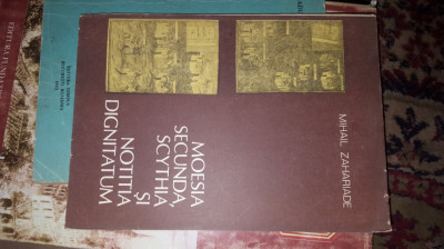 Moesia secunda ,scythia si notitia dignitatum 199pag/an1988- Mihail Zahariade foto