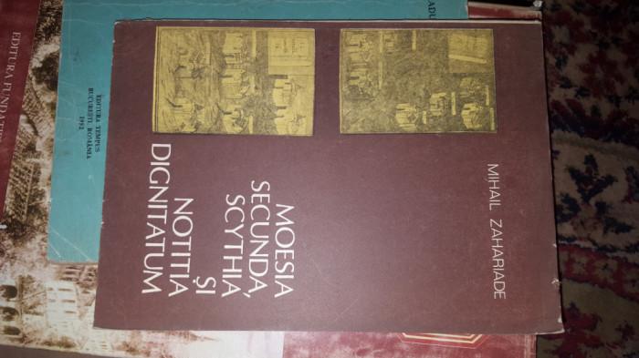 Moesia secunda ,scythia si notitia dignitatum 199pag/an1988- Mihail Zahariade