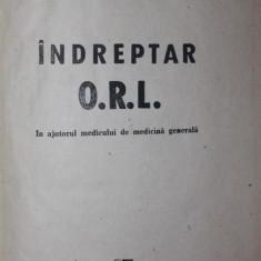INDREPTAR O.R.L. (OTORINOLOGIE: OTOLOGIE, RINOLOGIE, LARINGOLOGIE) - RADU ANGHELIADE, LILIANA SBENGHE-TETU