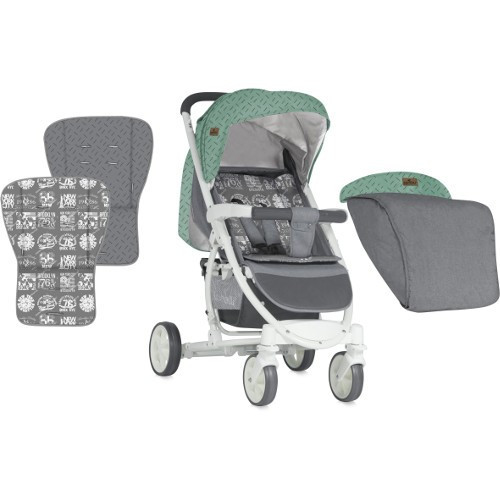Carucior 2 in 1 S300 2018 Green & Grey