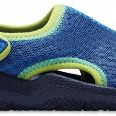 Sandale Copii casual Crocs Swiftwater Sandal Kids, 29.5, 32.5, Albastru