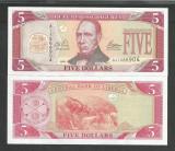 LIBERIA   5  DOLARI / DOLLARS  2003  UNC  [1]  P- 26a ,  necirculata