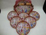 SET / SERVICIU DULCEATA   DIN PORTELAN JAPONEZ