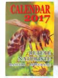 CALENDAR 2017. Retete naturiste* Bancuri*Integrame. Calendar de perete, 366 pag.