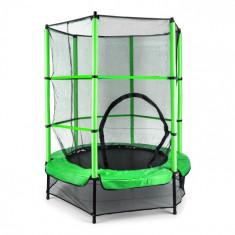 KLARFIT ROCKETKID, verde, 140 cm, trambulină