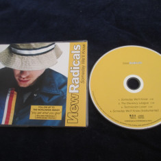 New Radicals - Someday We'll Know _ maxi single , cd _ MCA ( Europa , 1999 )