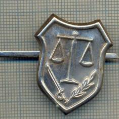 Y 1703 INSIGNA - MILITARA -SEMN DE ARMA -JUSTITIE MILITARA  -PENTRU COLECTIONARI