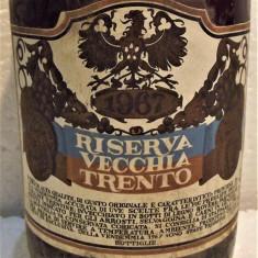 B 7- VIN RISERVA VECCHIA TRENTO, CAVIT, recoltare 1967 cl 65 gr 12