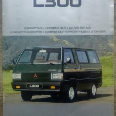 Brosura prezentare Mitsubishi L300// limba germana