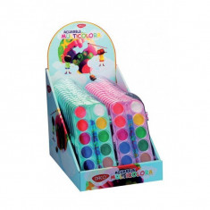Set 12 acuarele multicolore Daco