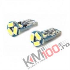 Bec LED T10 5 SMD 5730 12V ALBA CANBUS COD: PT113