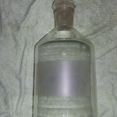 Sticla veche de laborator/farmacie TERM JENA,Clondir Original GERMANY,T.GRATUIT