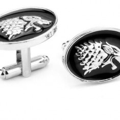 Butoni Stark Wolf, Game of Thrones, Urzeala Tronurilor + ambalaj cadou