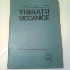 VIBRATII MECANICE  ~ GH. BUZDUGAN / M. RADES