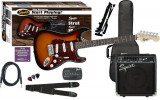 Set chitara Squier Affinity Strat, Fender Frontman 10G Amp