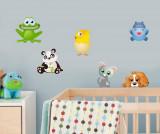 Set 6 stickere Animals