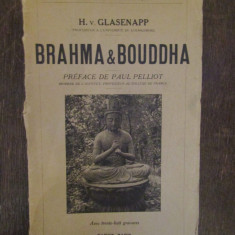 BRAHMA & BOUDDHA-H.V . GLASENAPP