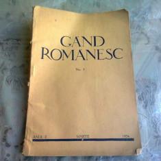 REVISTA GAND ROMANESC , NR. 3 , ANUL II , MARTIE , 1934