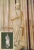 Romania 1974-maxima-prima zi,,Statuia unui cetatean roman, Romania de la 1950, Arheologie