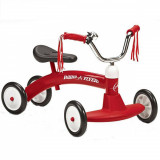Cvadriciclu fara pedale Radio Flyer Scoot About, Rosu