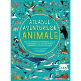Carte Editura Litera, Atlasul aventurilor. Animale