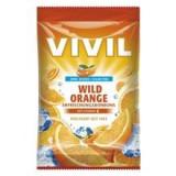 Bomboane Portocala Amara cu Vitamina C Fara Zahar 80g Vivil Cod: 4020400891097