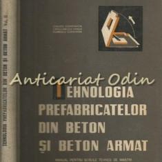 Tehnologia Prefabricatelor Din Beton Si Beton Armat II - C. Ciolacu