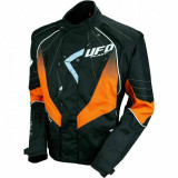 Geaca enduro Ufo Plast Sierra, culoare negru/portocaliu, marime M Cod Produs: MX_NEW GC04439FM